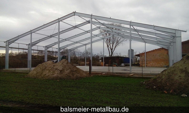 Hallenkonstruktion 2
