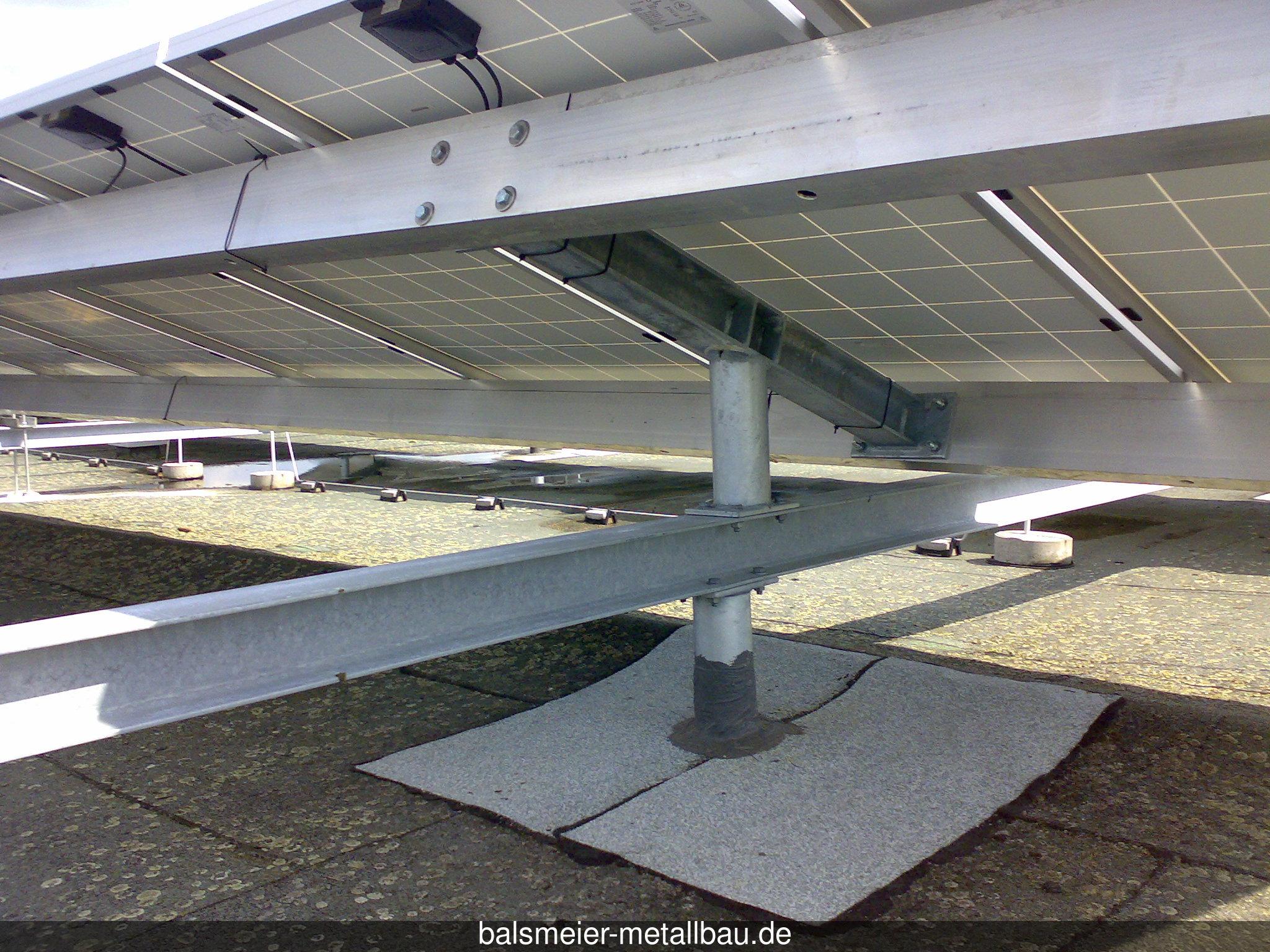 Unterkonstruktion für PV-Anlage 1